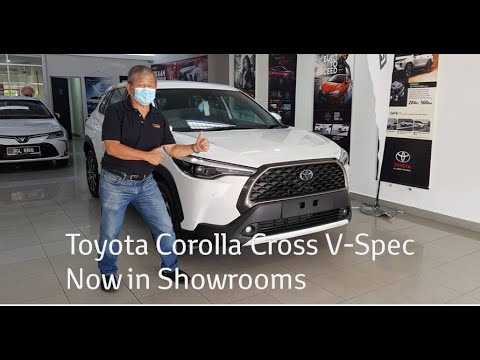 Toyota Corolla Cross V Spec Now in Showrooms – Walkaround Review / YS Khong Driving