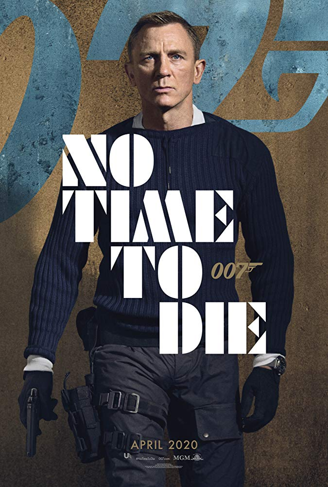 no-time-to-die-postert