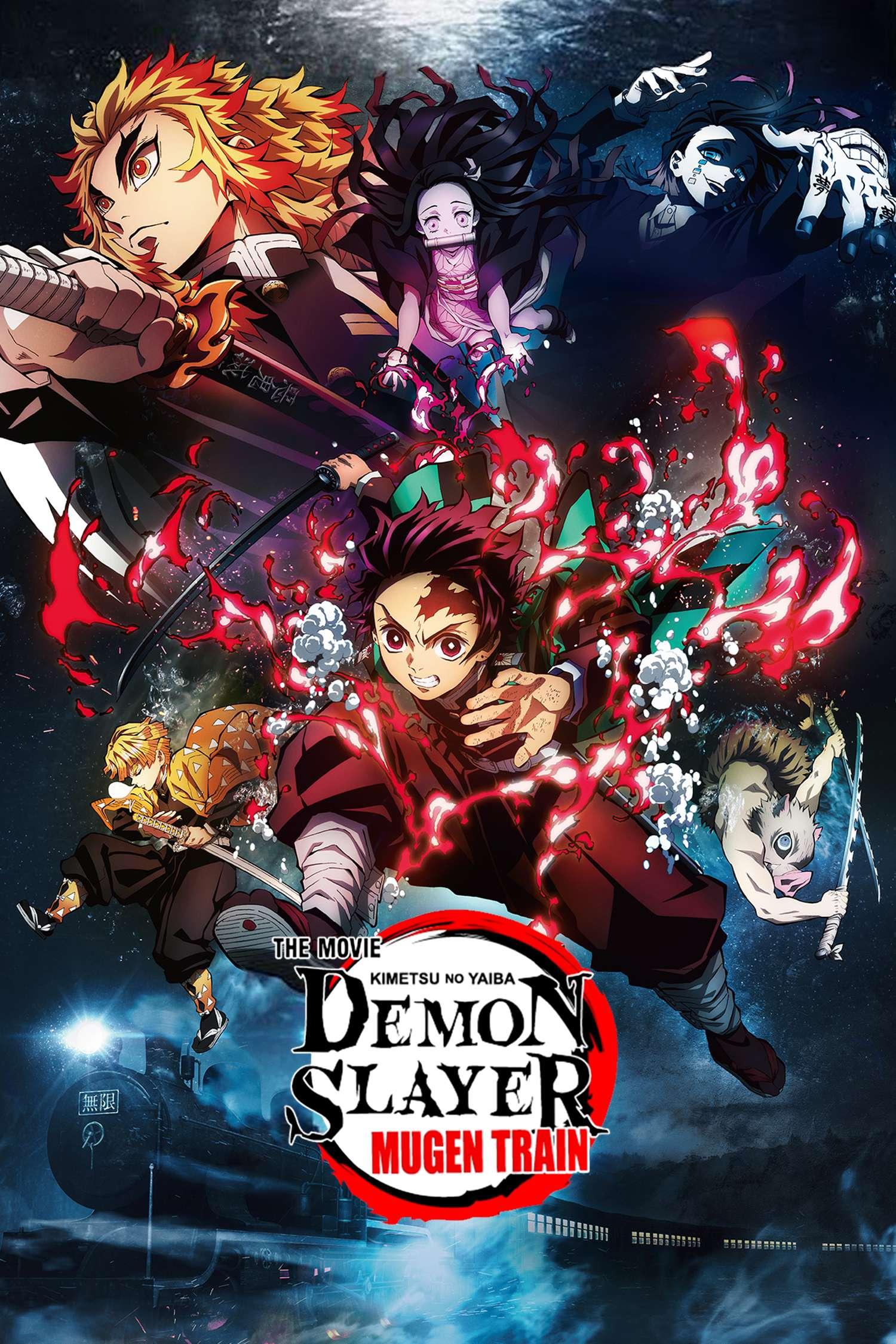 Demon Slayer Poster – Moviemotion
