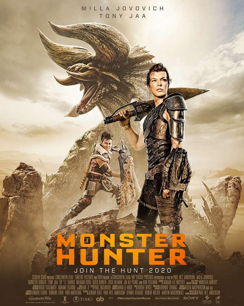 Monster Hunter poster – movieMotion