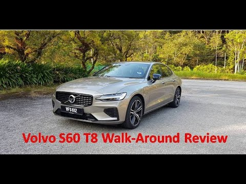 Volvo S60 T8 Plug-in Hybrid 2021 Walkaround Review / YS Khong Driving